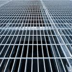 Grade de piso eletrofundida