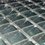 Grade de piso eletrosoldada