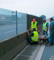 Tela antiofuscante para rodovias